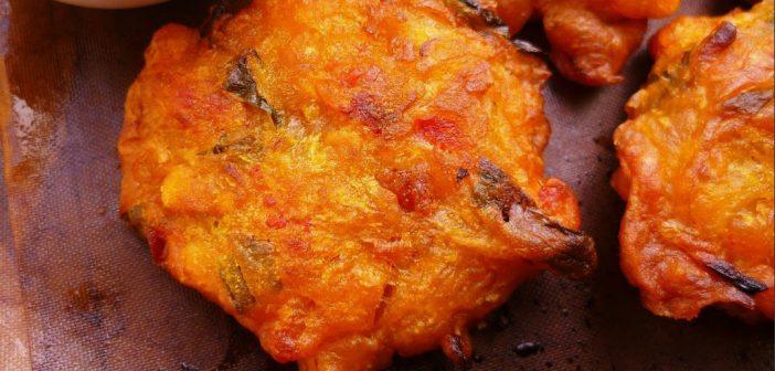 Gourmet Prawn Fritter
